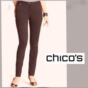 """CHICO's """"So Slimming """" Ankle Pants"""